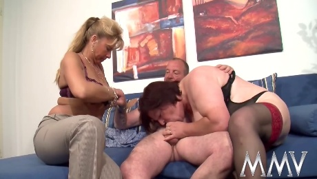German milfs are hungry for cock